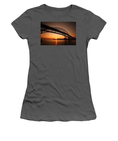 Women's T-Shirt (Junior Cut) featuring the photograph Blue Dawn by Gordon Dean II