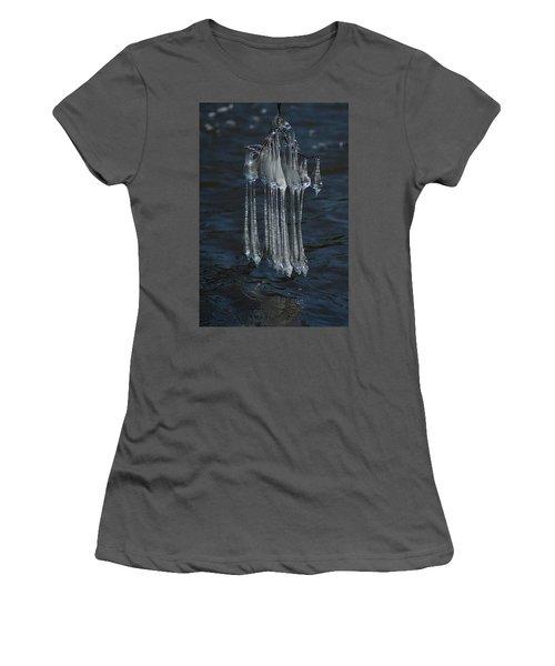 Blue Return Women's T-Shirt (Athletic Fit)