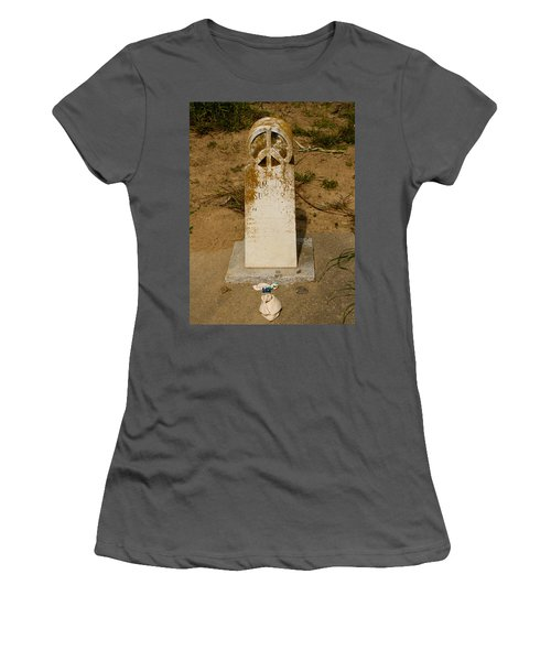 Bodega Bay Cemetery Women's T-Shirt (Athletic Fit)