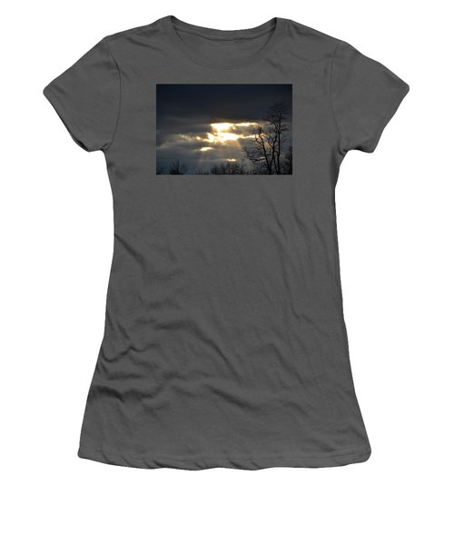 Break In The Clouds Women's T-Shirt (Athletic Fit)