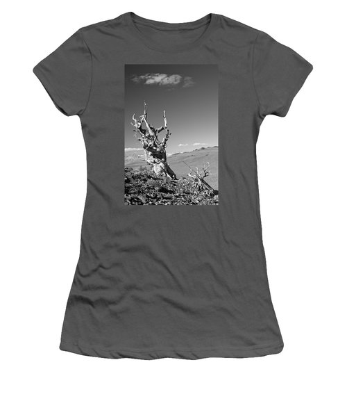 Bristlecone Pine And Cloud Women's T-Shirt (Athletic Fit)