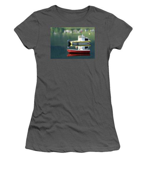 Women's T-Shirt (Junior Cut) featuring the photograph Calm Waters by Lynn Bolt