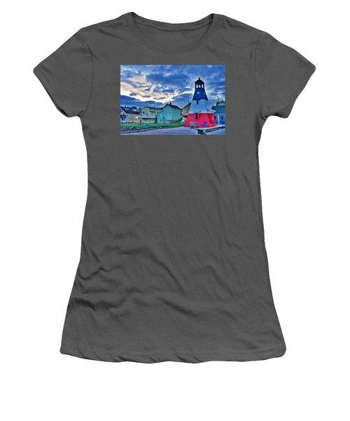 Cheticamp In Cape Breton Nova Scotia Women's T-Shirt (Athletic Fit)
