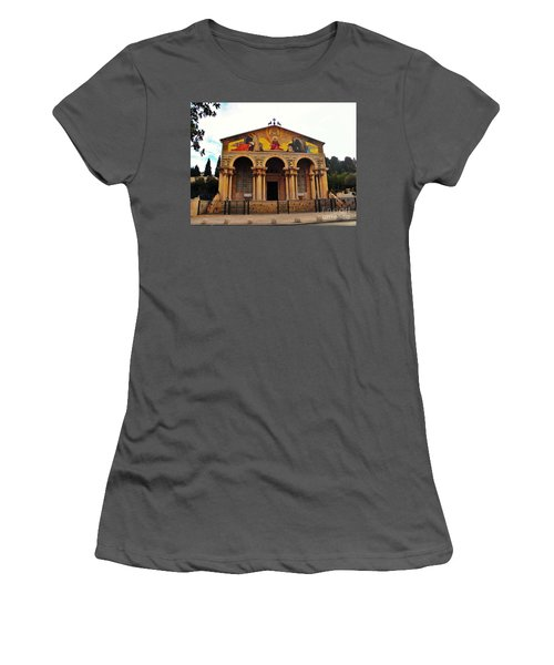 Church Of All Nations  Women's T-Shirt (Athletic Fit)