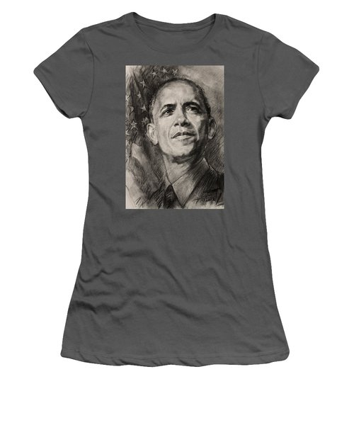 Commander-in-chief Women's T-Shirt (Athletic Fit)