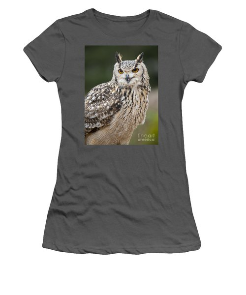 Eagle Owl II Women's T-Shirt (Athletic Fit)