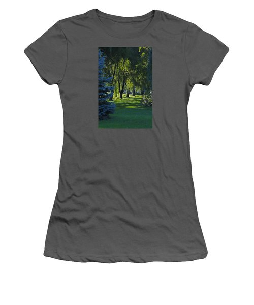 Early Morning Women's T-Shirt (Junior Cut) by John Stuart Webbstock