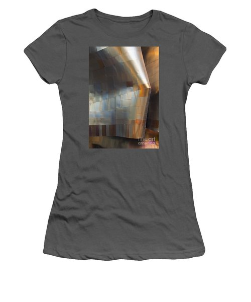 Emp Abstract Fold Women's T-Shirt (Athletic Fit)