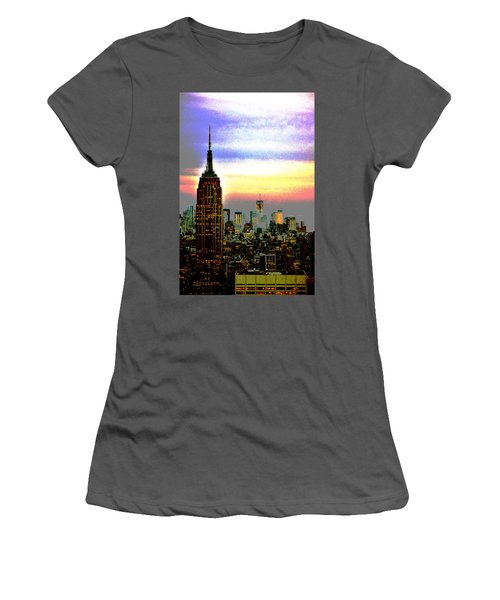 Empire State Building4 Women's T-Shirt (Athletic Fit)