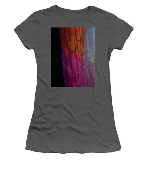 Women's T-Shirt (Junior Cut) featuring the digital art Enter by Richard Laeton