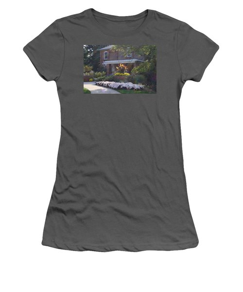 Women's T-Shirt (Junior Cut) featuring the photograph Fall Cowles by Joseph Yarbrough