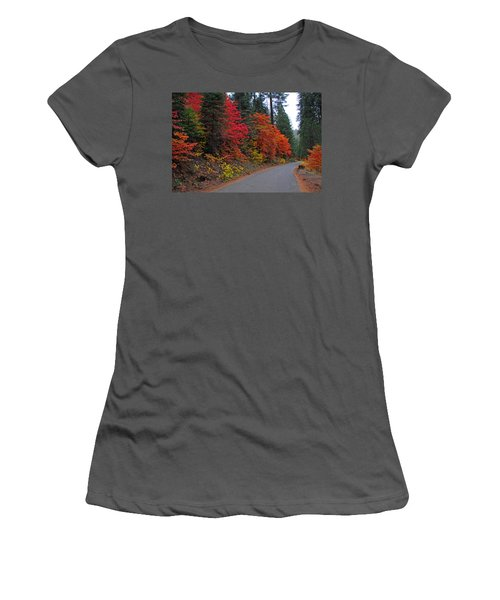 Fall's Splendor Women's T-Shirt (Junior Cut) by Lynn Bauer