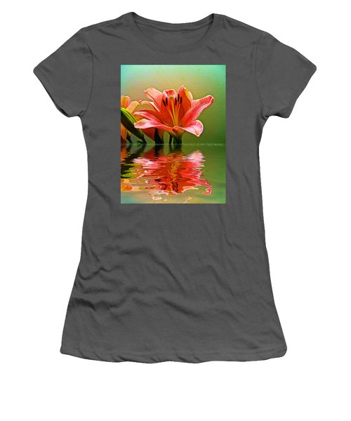 Flooded Lily Women's T-Shirt (Athletic Fit)