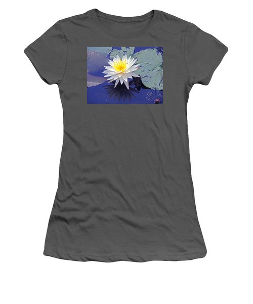 Flowering Lily-pad- St Marks Fl Women's T-Shirt (Athletic Fit)