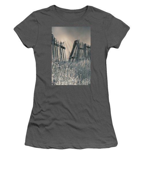 Women's T-Shirt (Junior Cut) featuring the photograph Freedom by Mary Almond