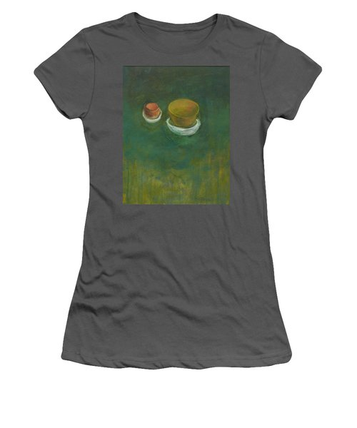 Women's T-Shirt (Junior Cut) featuring the painting Ginger Pot by Kathleen Grace