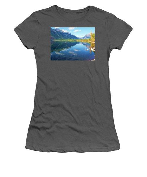 Glacier Park Magic Women's T-Shirt (Athletic Fit)