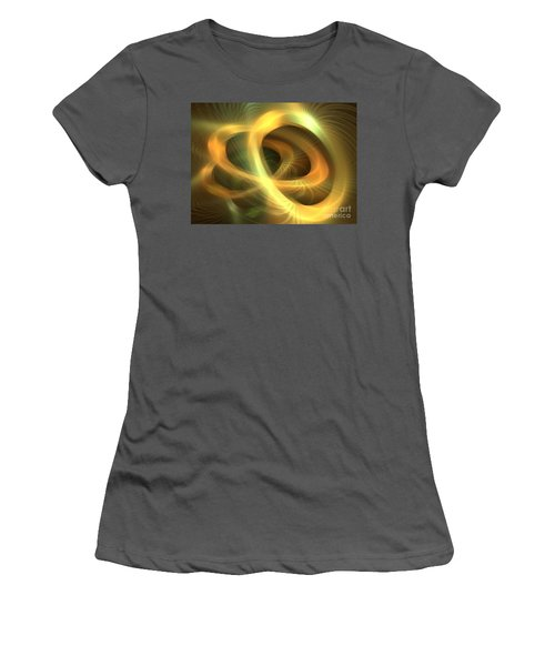 Golden Rings Women's T-Shirt (Athletic Fit)