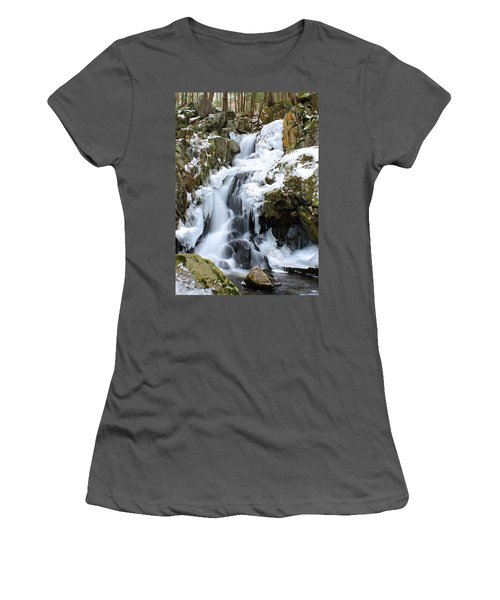 Goldmine Falls Women's T-Shirt (Athletic Fit)