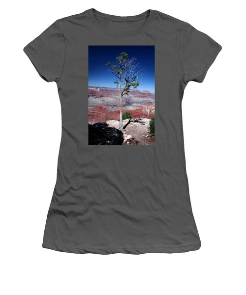 Women's T-Shirt (Junior Cut) featuring the photograph Grand Canyon Number Two by Lon Casler Bixby