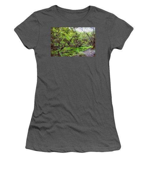 Greenery Women's T-Shirt (Athletic Fit)