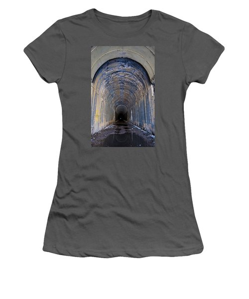 Hidden Tunnel Women's T-Shirt (Athletic Fit)