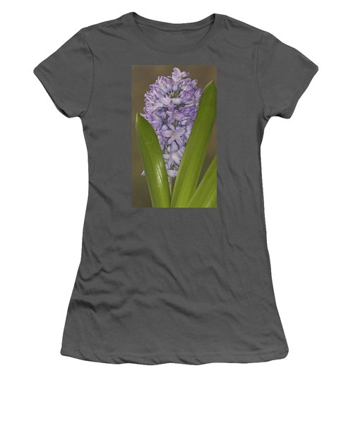 Hyacinth In Full Bloom Women's T-Shirt (Athletic Fit)