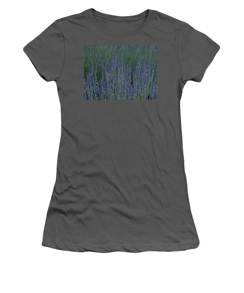Just Lavender Women's T-Shirt (Athletic Fit)