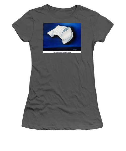 Kent State University College Of Nursing Women's T-Shirt (Athletic Fit)