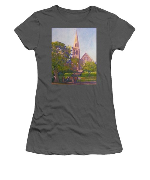 Leckie Memorial  Church  Peebles Scotland Women's T-Shirt (Athletic Fit)