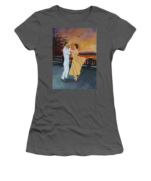 Let's Dance Women's T-Shirt (Athletic Fit)