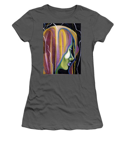 Lights II Women's T-Shirt (Athletic Fit)
