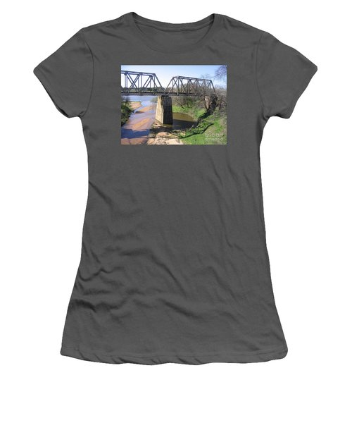Little Llano Creek Women's T-Shirt (Athletic Fit)