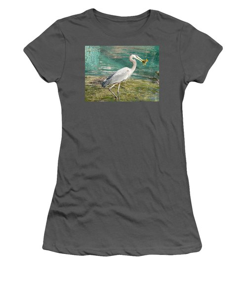 Lunchtime Women's T-Shirt (Athletic Fit)