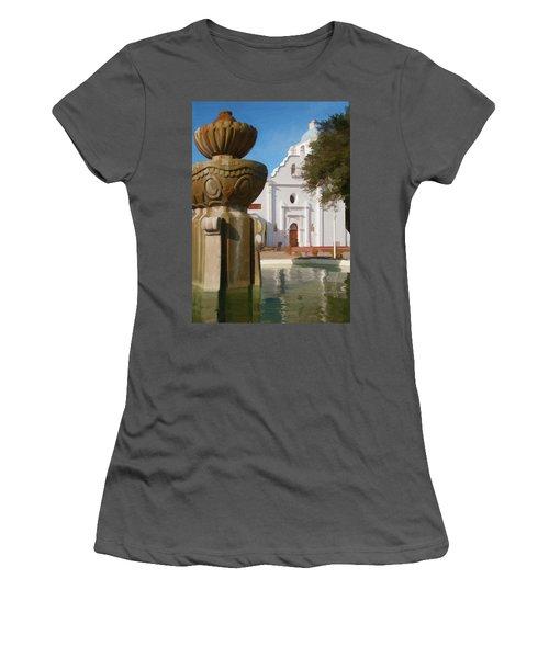 Mission Santa Cruz Women's T-Shirt (Athletic Fit)