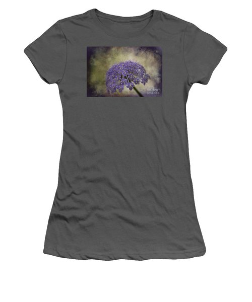 Women's T-Shirt (Junior Cut) featuring the photograph Moody Blue by Clare Bambers