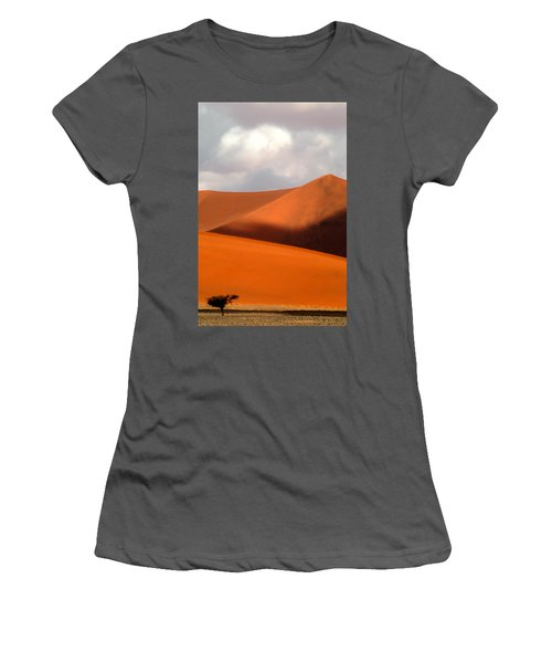 Moody Tree Upright Women's T-Shirt (Athletic Fit)