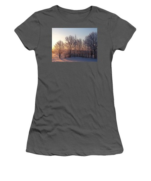 Morning Break Women's T-Shirt (Athletic Fit)