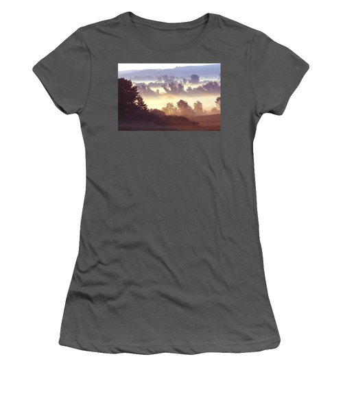 Morning Fog Women's T-Shirt (Athletic Fit)
