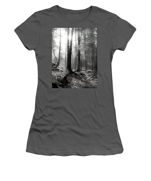Women's T-Shirt (Junior Cut) featuring the photograph Morning Sun by Mary Almond
