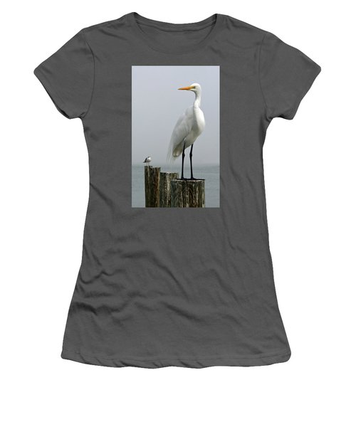 My Little Buddy Women's T-Shirt (Athletic Fit)