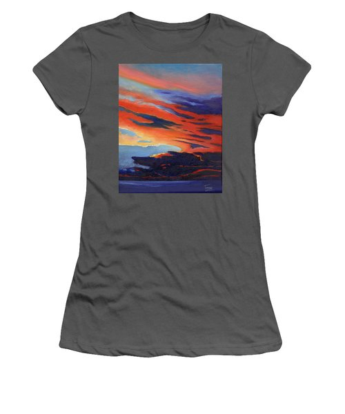 Natural Light Women's T-Shirt (Junior Cut) by Catherine Twomey