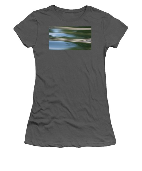 Nature's Reflection Women's T-Shirt (Athletic Fit)