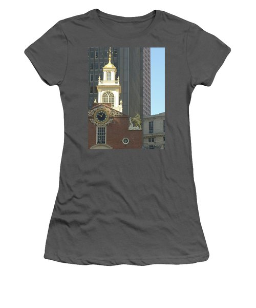 Old South Meeting House Women's T-Shirt (Athletic Fit)