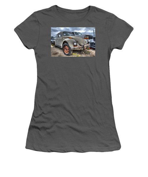 Old Vw Beetle Women's T-Shirt (Athletic Fit)