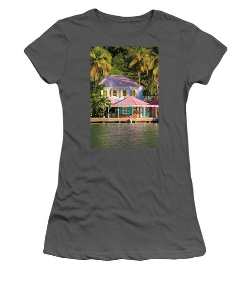 On The Dock Women's T-Shirt (Athletic Fit)