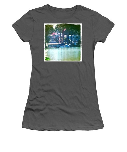 On The Lake - Lake Oswego Or Women's T-Shirt (Athletic Fit)