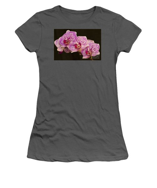 Women's T-Shirt (Junior Cut) featuring the photograph Orchids by Eunice Gibb