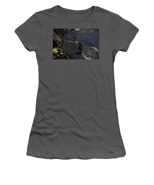 Perfect Catch Women's T-Shirt (Junior Cut) by David Lee Thompson