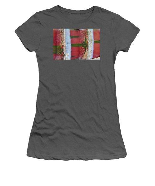 Pink Sugarcane 3 Women's T-Shirt (Athletic Fit)